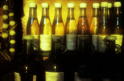 Light through bottles - soap museum - Tripoli - Lebanon