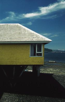 Palafito in Dalcahue, Chiloe Island, South Chile