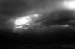 Stormy sky in Patagonia, Chile