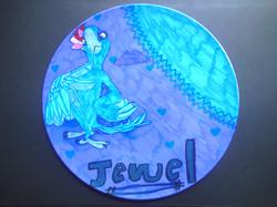 Rio Colouring book plate