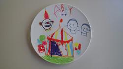 Fun activity plate