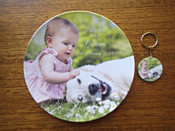 Our pets photo plate