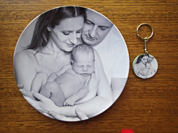 Newborn photo plate