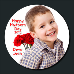 Mothers day photo plate