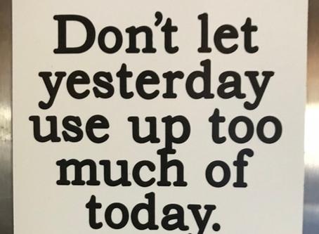 Yesterday vs Today?