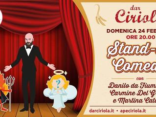 Stand-Up Comedy dar Ciriola con Danilo da Fiumicino