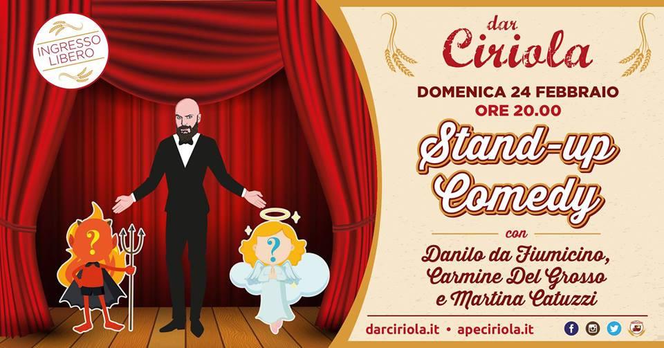 Stand-Up Comedy Show dar Ciriola con Danilo da Fiumicino