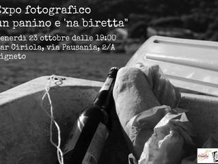 """Expo fotografico """"un panino e 'na biretta"""" - dar Ciriola premia i vincitori del contes"""