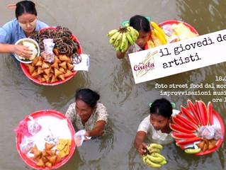 """Street food dal mondo e improvvisazioni musicali, al Pigneto è il """"giovedì degli artisti""""!"""