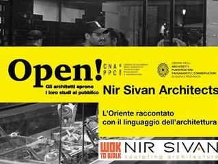 Per 'OPEN Studi Aperti 2018', Nir Sivan Architects presenta: 'L'Oriente raccontato con i