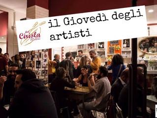 'Il Giovedì degli Artisti', il nuovo appuntamento al Pigneto