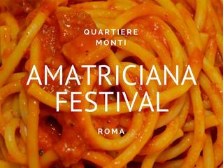 Chi viene al Festival dell'Amatriciana?