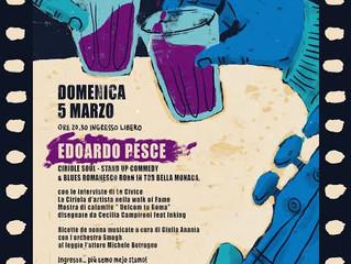 Edoardo Pesce ospite d'eccezione del primo appuntamento di Boni come er pane#2