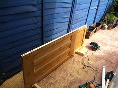 carpentry services, hanging door