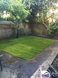 Recommended handyman laying turf