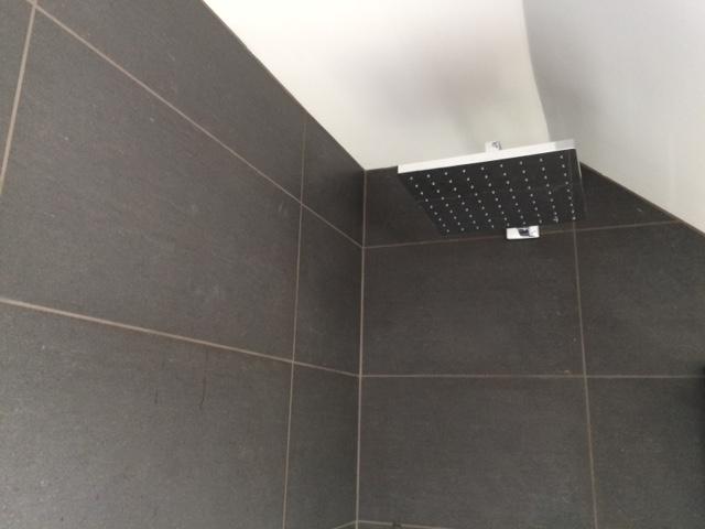 recommended tiler, shower tanking