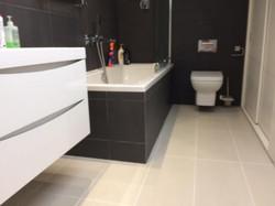 recommended tiler, tiling bath panel