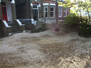 Recommended handyman laying pebbles