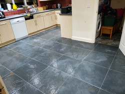 porcelain floor tiling