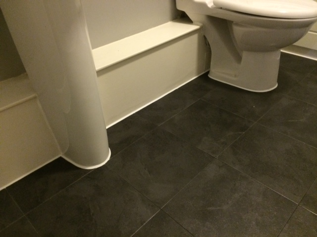 bathroom floor vinyl tiles