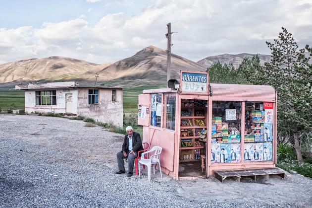 A village grocery. Van, Turkey. June 2012.