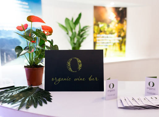 introducing the organic wine bar