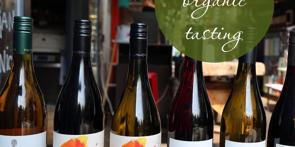 FREE Organic Wine Tasting to Celebrate Wine Week!