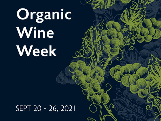 organic wine week - all set to be the best yet