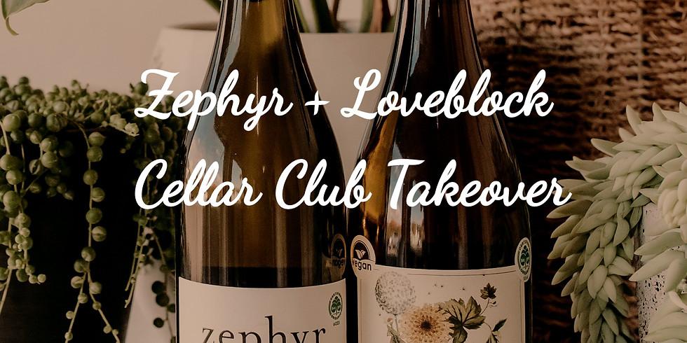 Zephyr + Loveblock Cellar Club Takeover