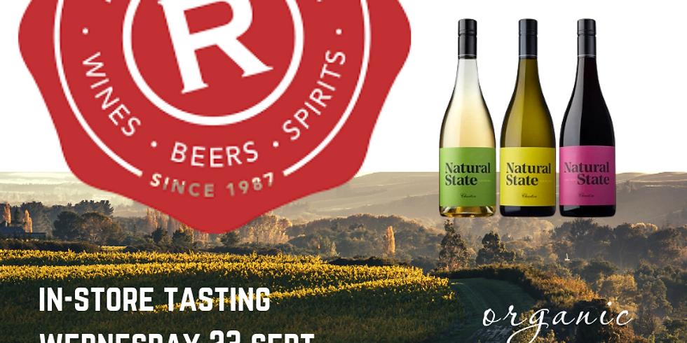 Regional Wines In-Store Tasting