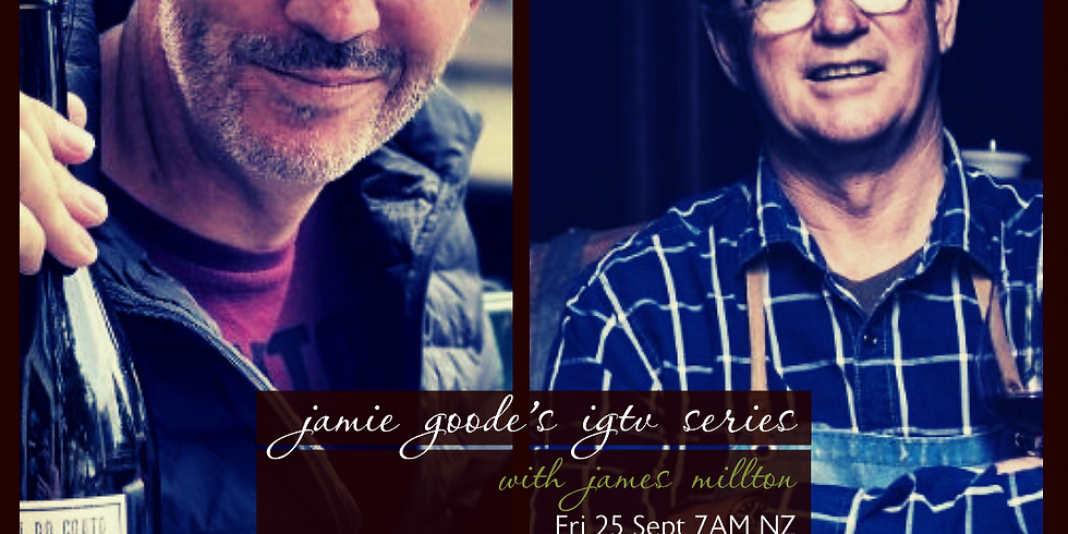 Jamie Goode's Organic Wine Week IGTV Series #3