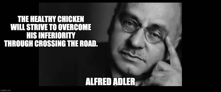 Adler humor