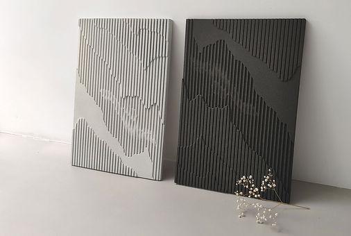 LA1 und LA2 von Alba Arribas in Weiß und Schwarz