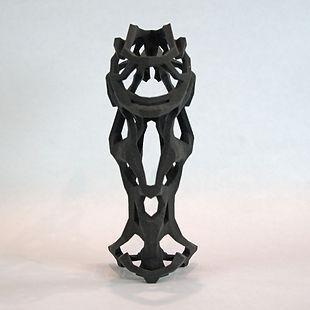Nick Ervinck Finudim Schwarz Sand Skulptur