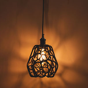 Delta Lampe Voronoi Kollektion Carlos del Castillo und Sandhelden