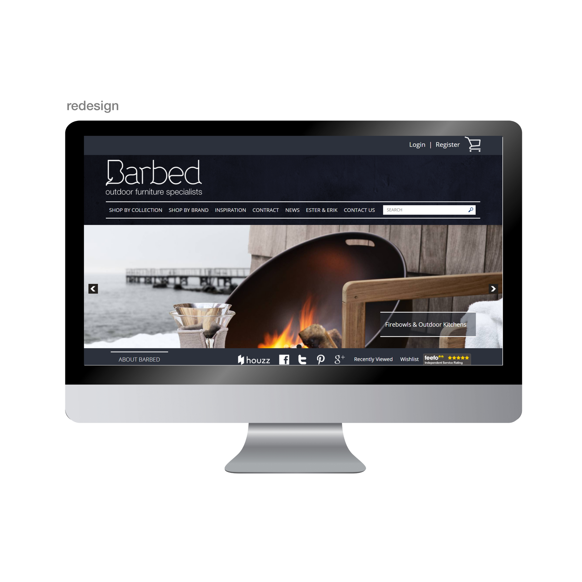 Barbed Website Redesign