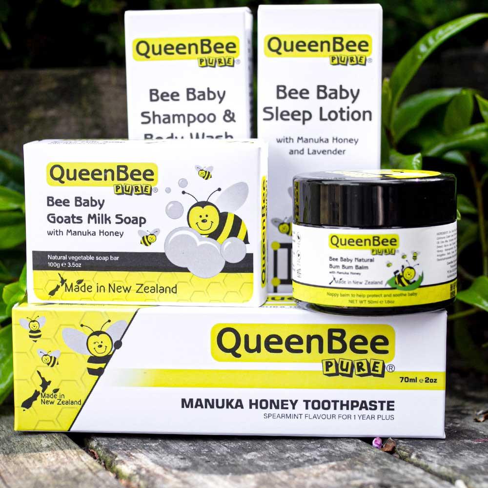 QueenBee Pure Product Range