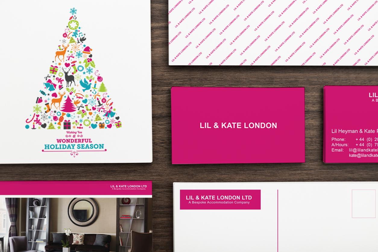 Lil & Kate London Ltd Branding