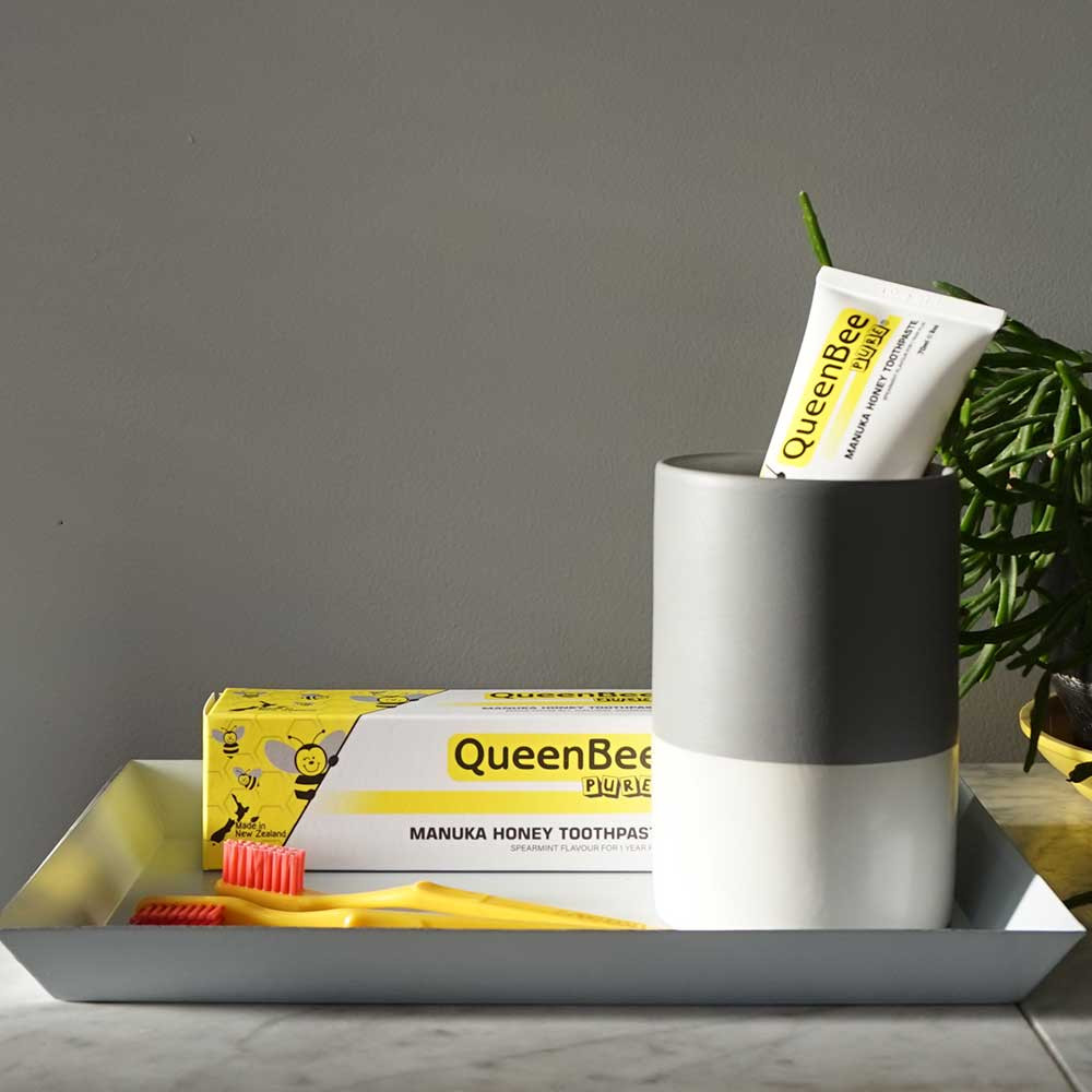 QueenBee Pure Toothpaste & Brushes