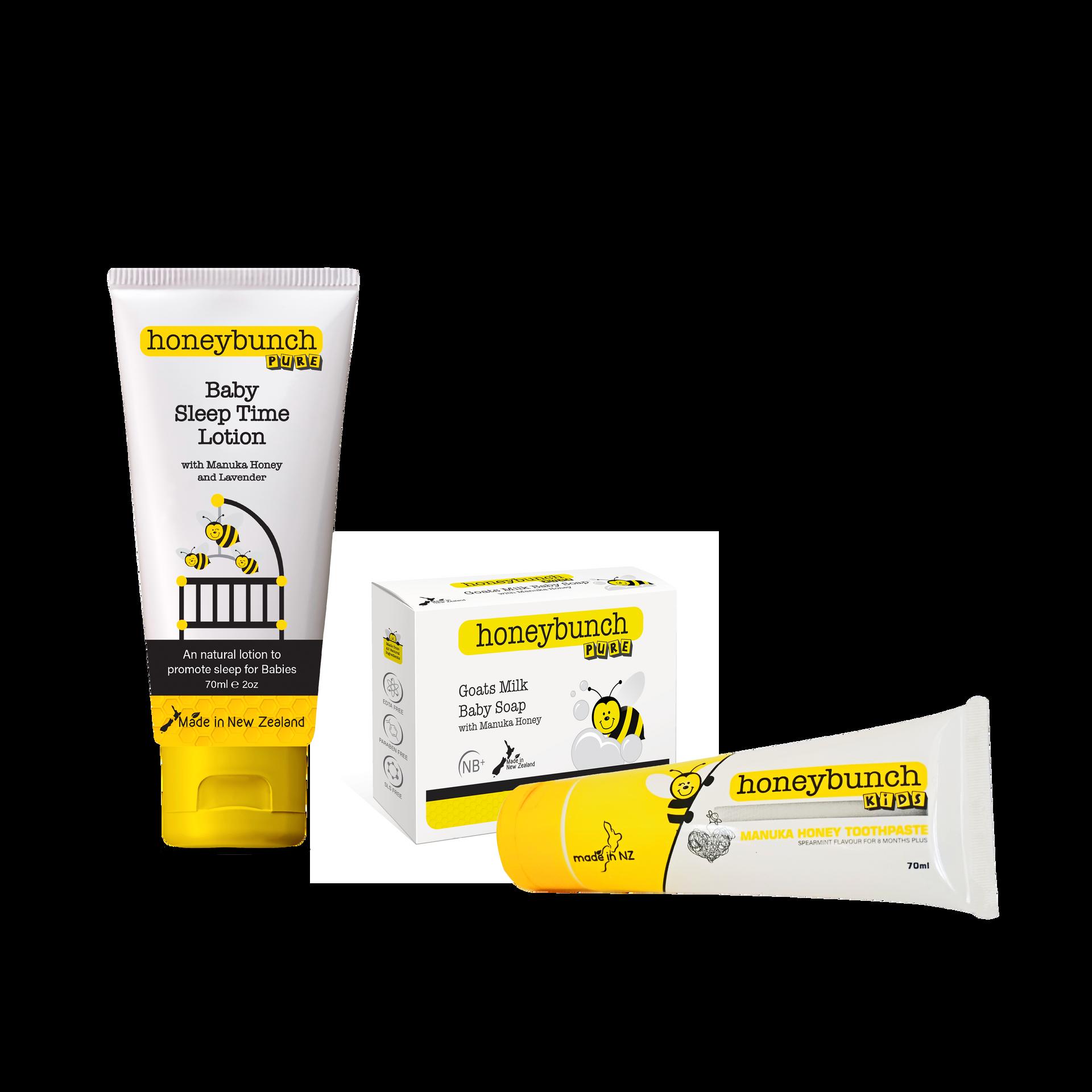 Honeybunch Pure Tavel Range