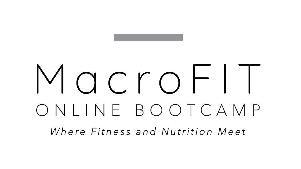 Phase 3 MacroFIT Bootcamp