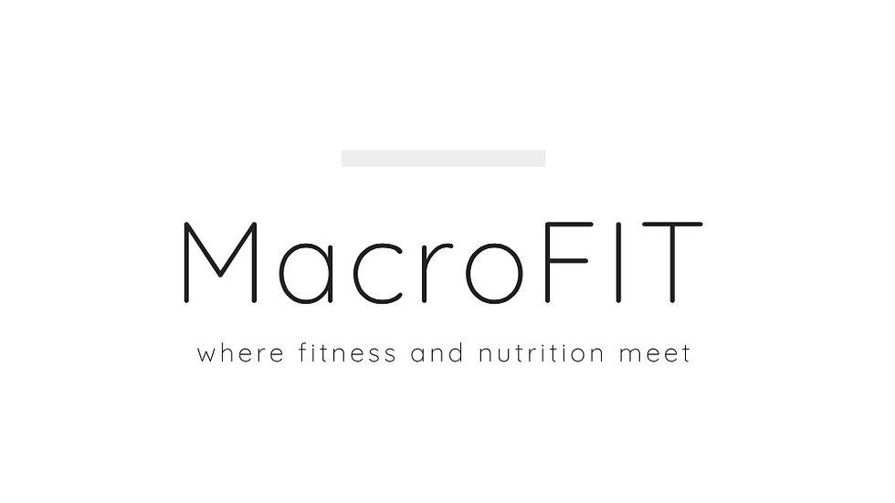 Phase 1 MacroFIT Bootcamp