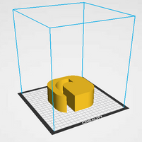 slicer du logo 3D de Allprints