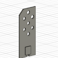 Prototype fixation servo moteur