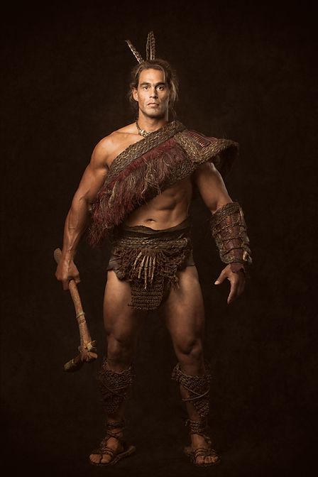 Maori Fantasy Armour from New Zealand film 'Rata'. Costume Design, Charlotte Kelleher - CKFilmdesign.