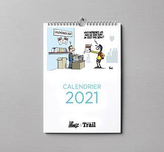 Calendrier 2021 Dingues de Trail