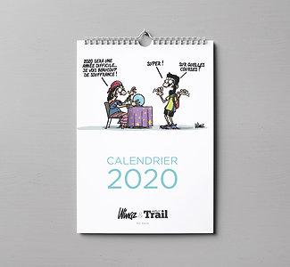Calendrier 2020 Dingues de Trail