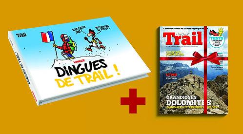 Album Dingues de Trail + 1 an d'abonnement au magazine Nature Trail
