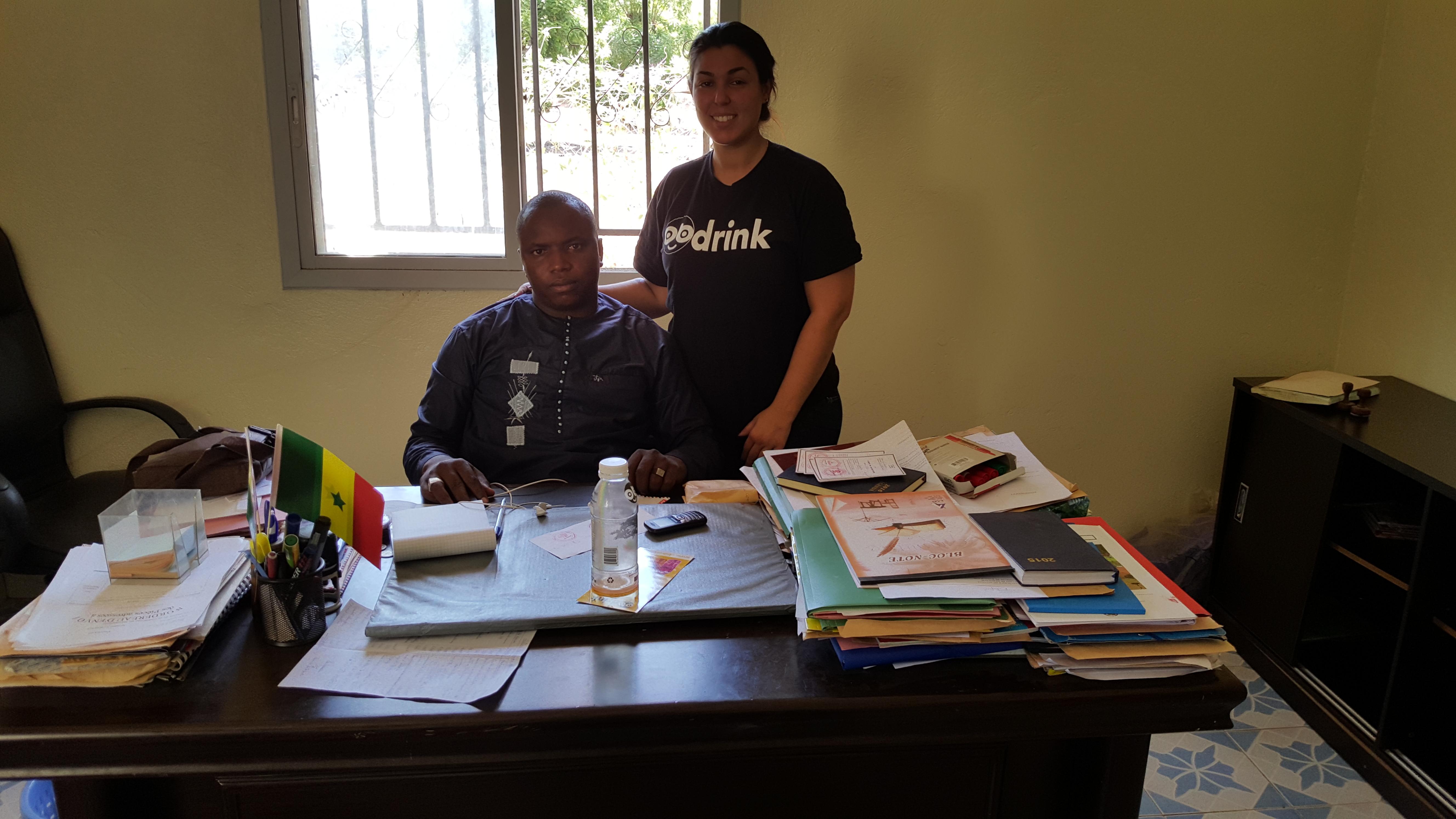 Maire du Village de Bandafassy