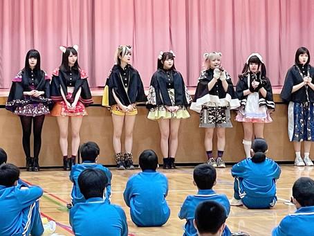 流山市立 八木中学校にてメンバーが講演